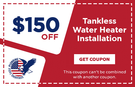 Coupon for Screaming Eagle Plumbing | Tankless Water Heater Installation