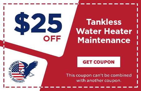 Coupon for Screaming Eagle Plumbing | Tankless Water Heater Maintenance