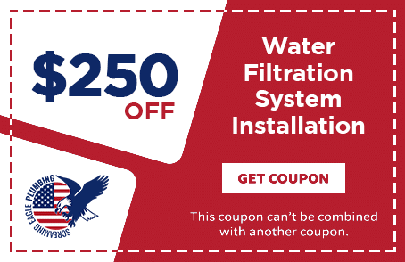 Coupon for Screaming Eagle Plumbing | Water Filtration Installation