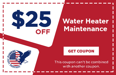 Coupon for Screaming Eagle Plumbing | Water Heater Maintenance